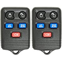 Keyless2Go Keyless Entry Remote Car Key Fob Replacement for Lincoln Navigator That Use CWTWB1U551, Self-programming - 2 PACK