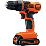 BLACK+DECKER LDX120C 20V MAX Lithium Ion Drill/Driver