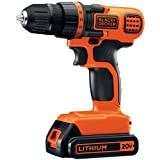 #4: BLACK+DECKER LDX120C 20V MAX Lithium Ion Drill/Driver