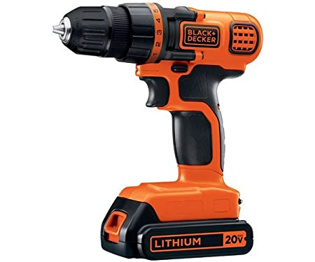 <strong>Black & Decker LDX120C Drill Driver - The most popular drill driver</strong>