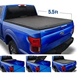Tyger Auto Top T3 Soft Tri-Fold Truck Tonneau Cover for 2015-2018 Ford F-150 | Styleside 5.5' Bed | TG-BC3F1041