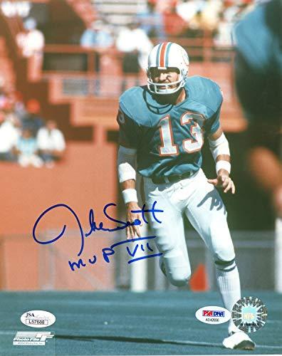 - Jake Scott Miami Dolphins Autographed Signed 8x10 Photo - PSA/DNA Authentic