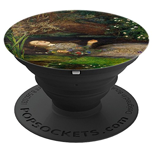 Millais Painting Ophelia - Millais Ophelia Shakespeare Pre-Raphaelite Painting - PopSockets Grip and Stand for Phones and Tablets