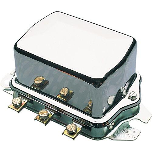 ACCEL ELECTRO-MECHANICAL VOLTAGE REGULATOR CHROME 12V - 274-0231 274-0