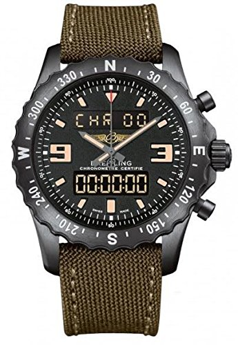 Breitling Professional Chronospace Blacksteel Limited Edition Men's Watch M7836622/BD39