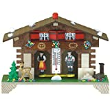 weather house barometer - German Black Forest weather house TU 807