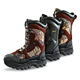 Guide Gear Men's Monolithic Waterproof Insulated Hunting Boots 2400 Gram, Mossy Oak, 10.5D