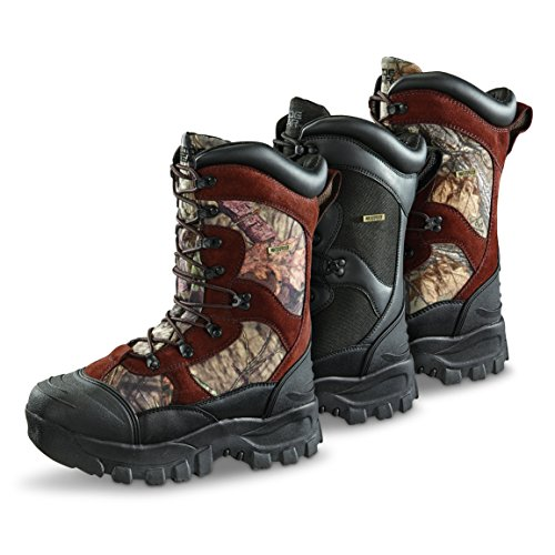Guide Gear Men's Monolithic Waterproof Insulated Hunting Boots 2400 Gram, Mossy Oak, 11D