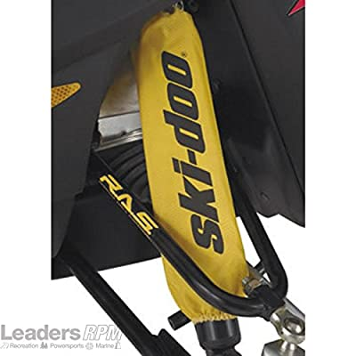 Ski-Doo New OEM Yellow Front Shock Sleeve Cover Protectors Pair, 860201130