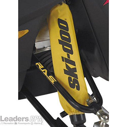Ski Doo Shock (Ski-Doo New OEM Yellow Front Shock Sleeve Cover Protectors Pair, 860201130)