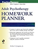 img - for Adult Psychotherapy Homework Planner (PracticePlanners) by Arthur E. Jongsma Jr. (2003-12-29) book / textbook / text book