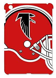Atlanta Falcons Red Helmet Hard Protective 3D iPad Mini Case by eeMuse