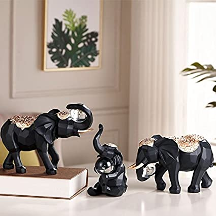 Accessori per il soggiorno nordico, ornamenti di elefanti, accessori ...