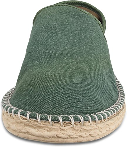 46 Gr Sommer Espadrillas Khaki Herren Freizeitschuhe Style für normani Stoffschuhe Klassische und Schuhe 36 Flache 1 Damen BxwwnPOR