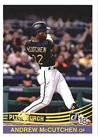 reputable site 140af ac9e0 Amazon.com: Baseball MLB 2018 Donruss #257 Andrew McCutchen ...