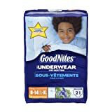 Health & Personal Care : GoodNites Underwear, Boys, Large/Extra-Large, 21 Count