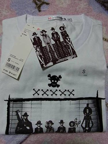 UNIQLO × ONE PIECE コラボ 半袖 Tシャツ 白 Sの商品画像