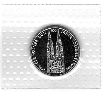 Münzen 5 Dm Gedenkmünze 100 Jahrestag Der Vollendung Des Kölner