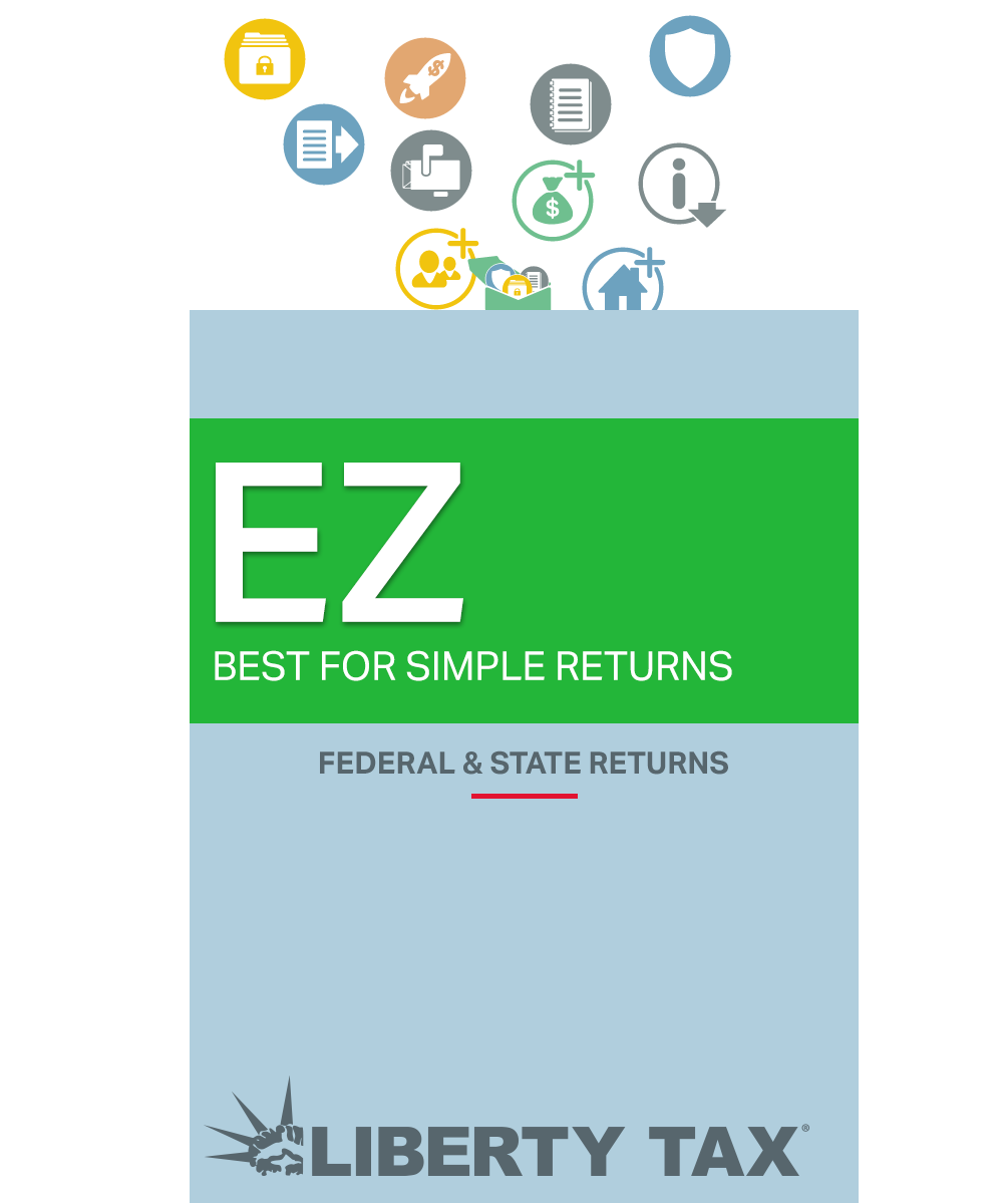 Liberty Tax Online EZ Edition [Online Code]