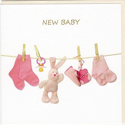Fine Art Glückwunschkarte zur Geburt
