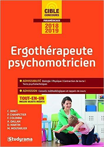 Ergotherapeute Psychomotricien 9ed Concours paramédicaux: Amazon.es: Collectif, Caroline Binet, Perrine Champetier, Florence Colonna, Albina Dallan: Libros ...