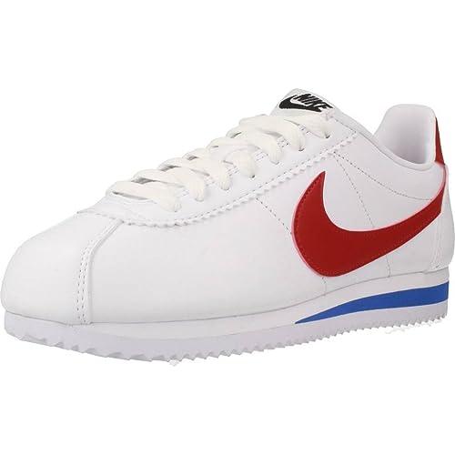 Calzado Deportivo para Mujer, Color Blanco, Marca NIKE, Modelo Calzado Deportivo para Mujer NIKE Wmns Classic Cortez Blanco: Amazon.es: Zapatos y ...