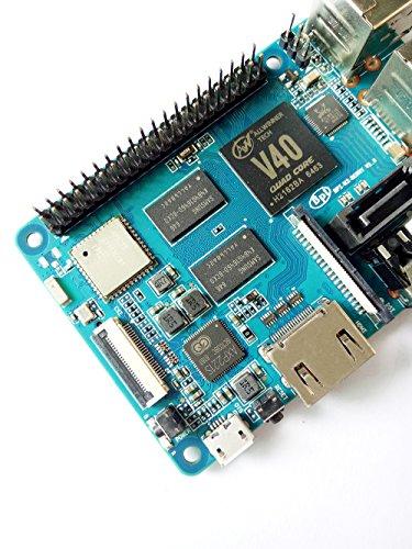 Banana Pi BPI M2 Berry Dual core Mali 400 MP2 GPU 1G LPDDR3 Open-source Development Board , Same Size as Raspberry Pi 3 by SmartFly Info (Image #5)