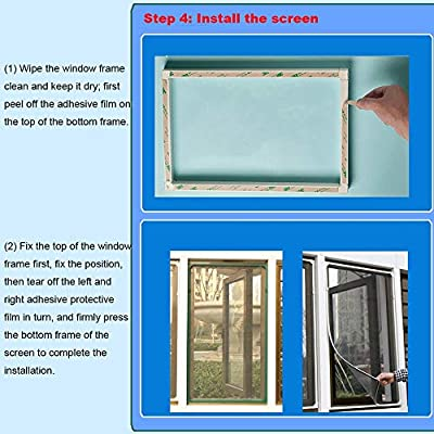 Insects Screen Net, Adjustable Mosquito Net For Window,DIY