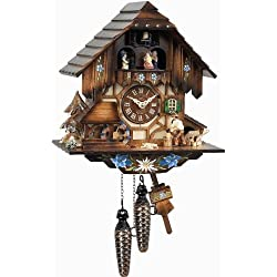 Alexander Taron Home Seasonal Décorative Accessories Engstler Weight-driven Cuckoo Clock - Full Size - 13H x 11W x 7D