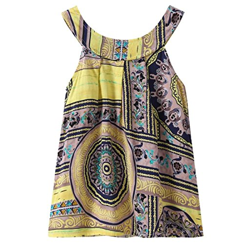 Paillette Sleeveless Short - morecome 3-6 Years Summer Baby Girl Cute Dress, Toddler Girl Party Floral Print Tutu Princess Dress (4T, Yellow)