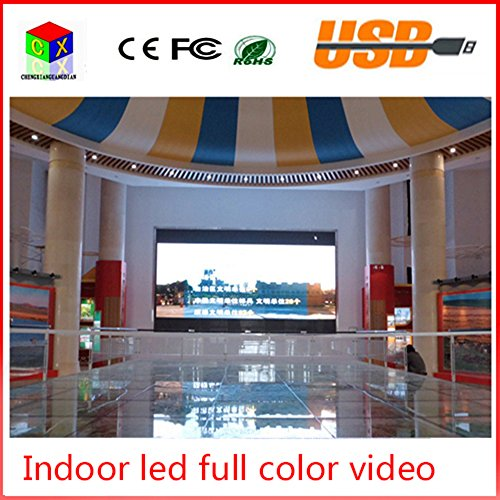P4 indoor RGB full Color led video wall size 512x512mm led large-screen display sign background synchronization system P4 System Board