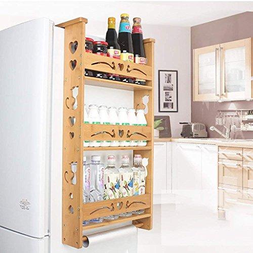 kicthnslf Organizadores y almacenaje de estantes para la Cocina Organizadores de armarios para el hogar Estantes Estantería...