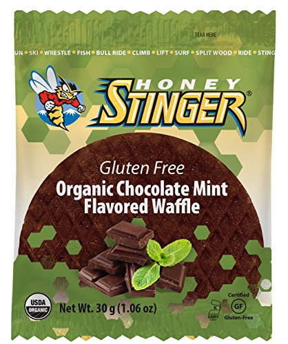 Honey Stinger Organic Gluten Free Waffle, Chocolate Mint, 1 Ounce (Pack of - Chocolate Mint Wafer