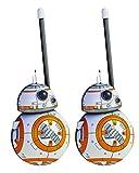 #7: Star Wars BB8 Walkie Talkies for Kids Static Free Extended Range Kid Friendly Easy to Use 2 Way Walkie Talkies