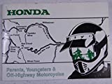 90-91 HONDA OFF ROAD/HIGHWAY NOS OEM MOTORCYCLE RIDER'S DRIVERS MANUAL