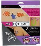 Tulip Body Art Stencil Designs Favorits