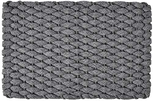 Rockport Rope Doormats 2030206 Indoor and Outdoor Doormats, 20 by 30-Inch, Gray