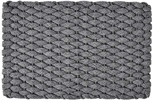 Rockport Rope Doormats 2030206 Indoor and Outdoor Doormats, 20 by 30-Inch, Gray ()