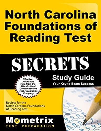 north carolina foundations of reading test secrets study guide rh amazon com foundations of reading study guide foundations of education study guide