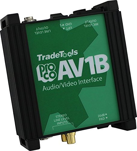 (Pro Co Sound AV1B Audio Video Interface)