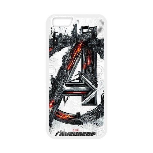 Avengers Age Of Ultron coque iPhone 6 4.7 Inch Housse Blanc téléphone portable couverture de cas coque EBDOBCKCO12473