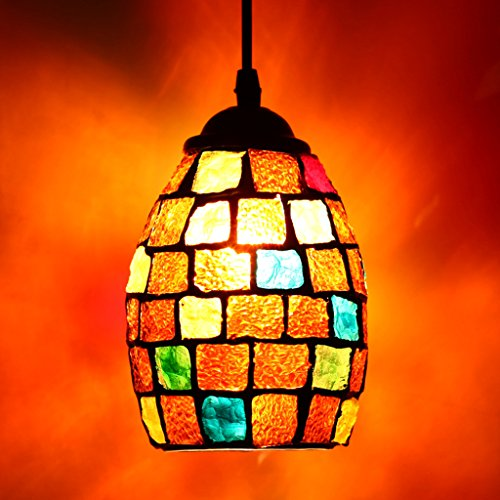Mosaic Pendant Light Shade in US - 3