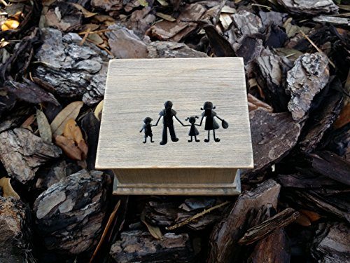 Music box, custom made music box, handmade music box, gift for mom, family, simplycoolgifts