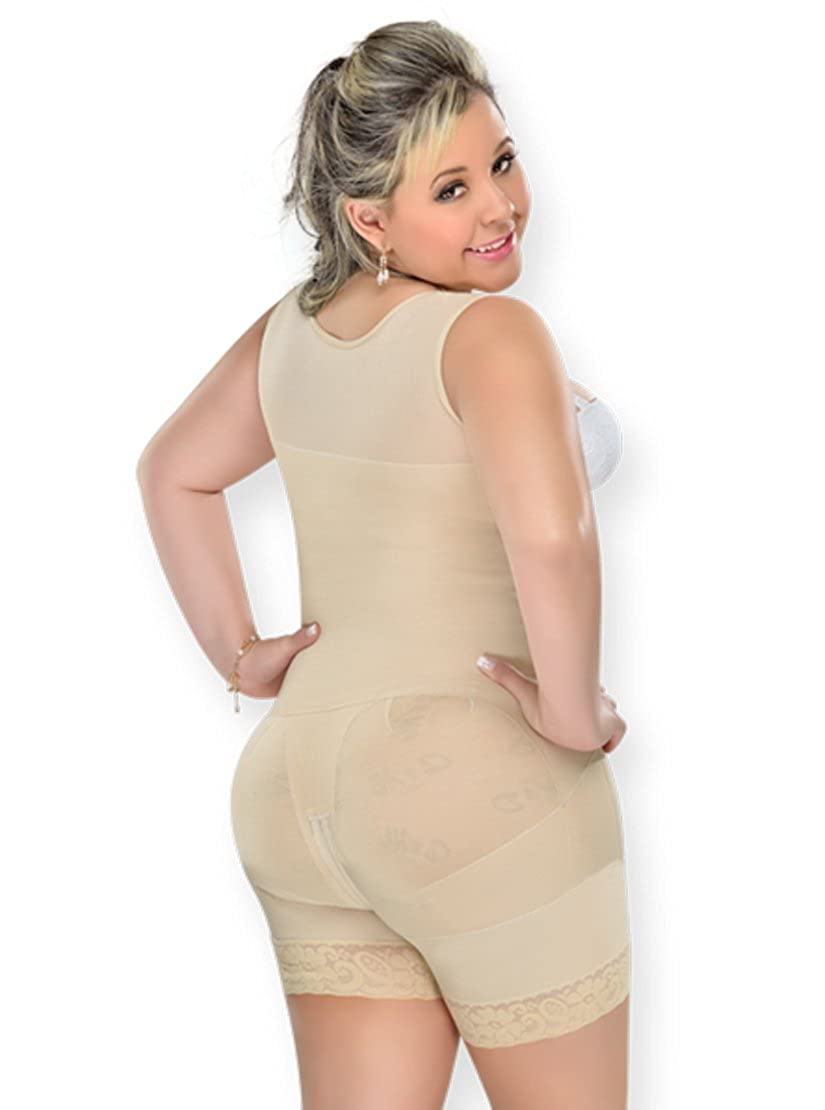 648056511 FAJAS MYD F0029 FAJA MOLDEADORA  REDUCTORA LIPO POST SURGICAL  SHORT LEG at  Amazon Women s Clothing store