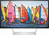 Cheap HP – Pavilion 32″ LED QHD Monitor – Black with Silver stand