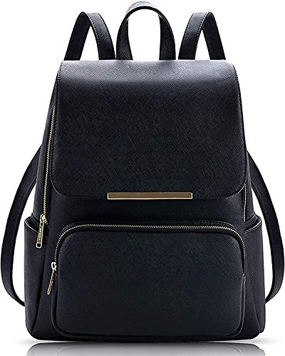 Backpack for women Stylish | women backpack latest | school bag for girls under | College Bag for women (Black)