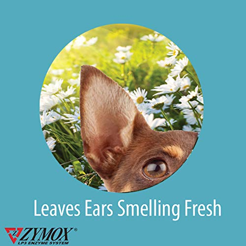 ZYMOX Ear Solution | The Only No Pre-Clean Once -a-Day Dog and Cat Ear Solution