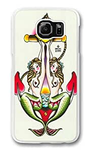 Samsung Galaxy S6 Cases & Covers -Two Mermaids 2 Polycarbonate Hard Case Back Cover for Samsung S6/Samsung Galaxy S6 Transparent
