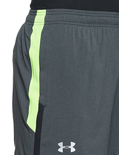 Under Armour Men's Launch 5'' Shorts,Black /Reflective, Medium by Under Armour (Image #4)