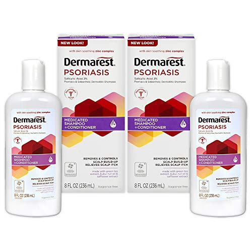 (Dermarest Psoriasis Medicated Shampoo Plus Conditioner | 8 FL OZ | 2 Pack)